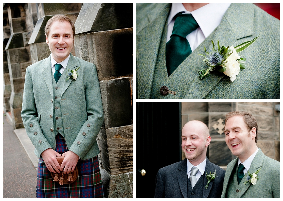 Groom, Wedding in Linlithgow